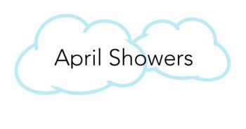 April Showers Practice Chart!
