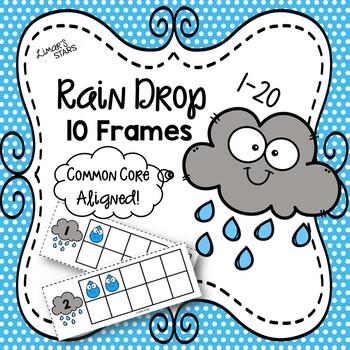 April Showers Rain Drop 10 Frames 1-10