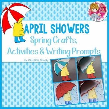 Spring Crafts - April Showers