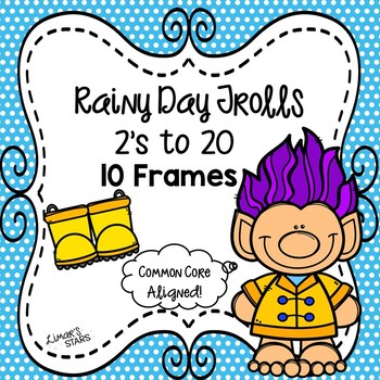 April Showers Trolls Counting by 2's to 20 10 Frames