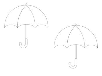 April Showers Watercolor/Crayon Resist Art
