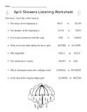 April Showers Worksheet