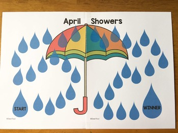 Open Ended Reinforcement Game April Showers