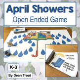 Speech Therapy Activities Open Ended Game April Showers