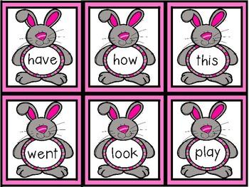 April Sight Word Game