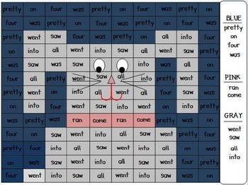 April Sight Word Pack (Differentiated for K-2)