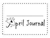 April Sight Word of the Day Journal