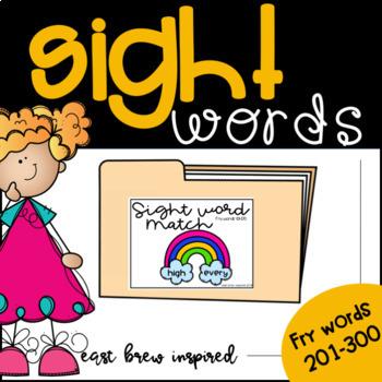 Sight Words 201-300