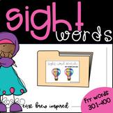 April Sight Words 301-400