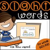April Sight Words 601-700