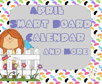 SmartBoard Calendar: April