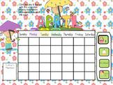 Smartboard Calendar April