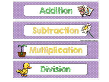 April Sort and Solve Word Problems