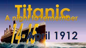 April Special Days Bundle: Remembering Titanic and the fes