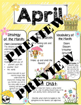 April Speech Newsletter: Vocabulary, Idioms, Reading Strat