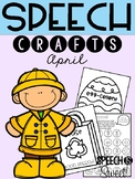 April: Speech Therapy Crafts