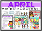 April: Speech/Language Bundle