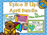 Spice It Up April Bundle (Reading, Writing, and Math)