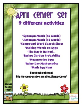 April Spring Centers: 9 Different Activities