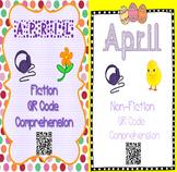 April- Spring & Earth Day - QR Code Comprehension BUNDLE (