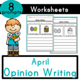 April (Spring & Easter) Opinion Writing Prompts
