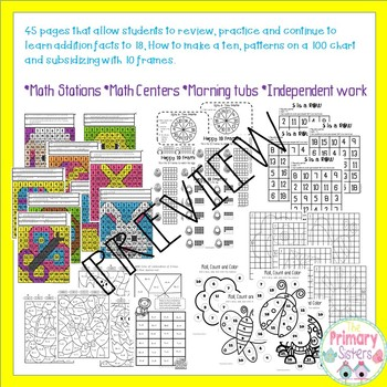 Spring Activities Math Pack