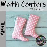 April Spring Math Centers Second Grade