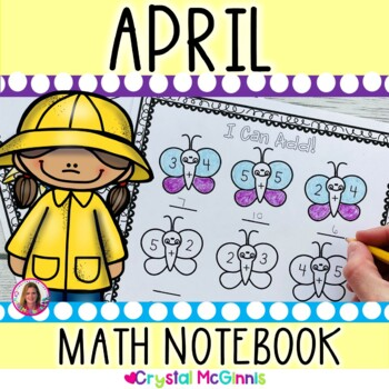 April & Spring Math Notebook (Math for the Entire Month!)