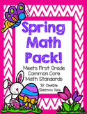 Spring Themed Math Pack