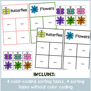 April/ Spring Themed Sorting & Matching Activities