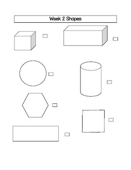 Spring Time Who am I? Shapes Math Stations Week 1-2-3-4