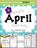 April/ Spring Word Work & Writing Activities