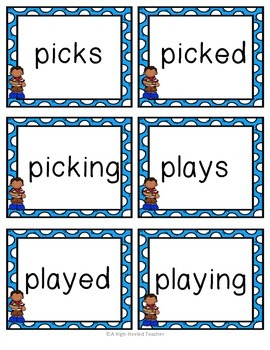 April/ Spring Word Work & Writing Activities