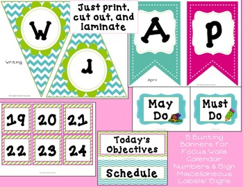 April/ Spring Word Work & Writing Activities & Bulletin Boards