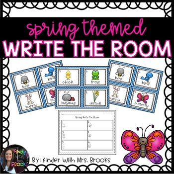 April/Spring Write the Room