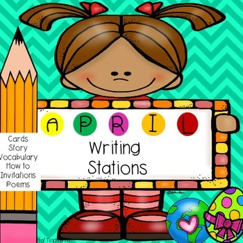 April Spring Writing