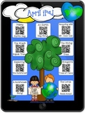 April Stories QR Codes & Hyperlinks~Scan/Click Listening Center Twist! Earth Day