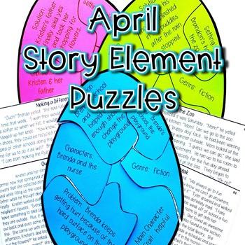 April Story Element Center