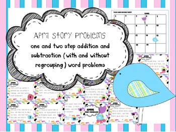 April Story Problems