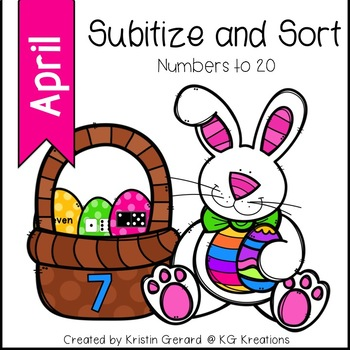 April Subitize and Sort