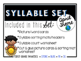April Syllable Set