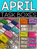April Task Boxes