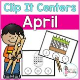 April Tens Frame Clip It Centers
