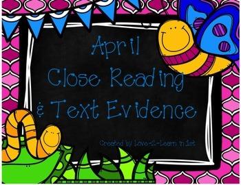 April Text Evidence