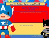 April Theme + Autism Awareness + Newsletter Template