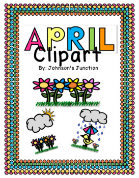 April Themed Clipart