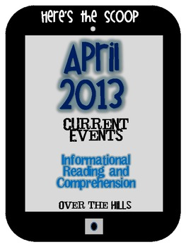 April Themed Informational Reading Passages/Comprehension