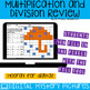 April Themed Multiplication and Division Practice DIGITAL Mystery Pictures