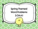 April Themed Word Problems