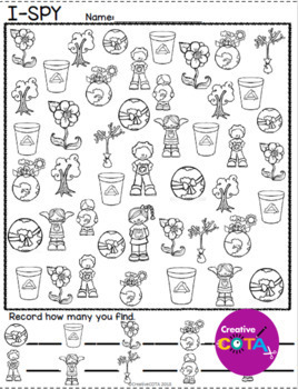 April Themes Bundle Differentiated Worksheets and Activities